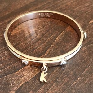 """Henri Bendel """"K"""" Bracelet"""